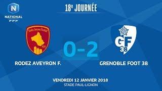 Rodez vs Grenoble full match