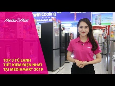 Top 3 tủ lạnh tiết kiệm điện nhất tại MediaMart