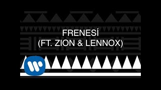 Piso 21 - Frenesí (feat. Zion & Lennox) [Official Lyric Video]