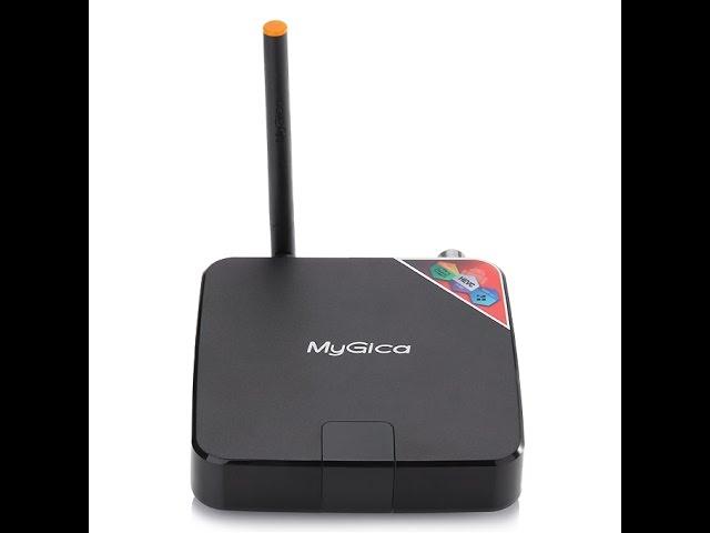 Streamer Wi-Fi//Ethernet H.265 Media Player XBMC MyGica Atv586 ATSC TV Recording PVR Android TV Box with KODI