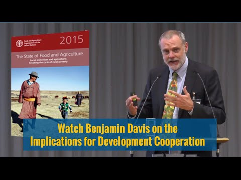 Social Protection and Agriculture for Food Security:  Breaking the Cycle of Poverty