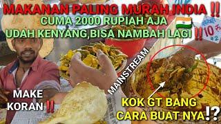 Download Makanan PALING MURAH India‼️ Cuman 2RB RUPIAH Udah KENYANG+Bisa NAMBAH Lagi‼️KALO GINI MAKMUR KALI⁉️