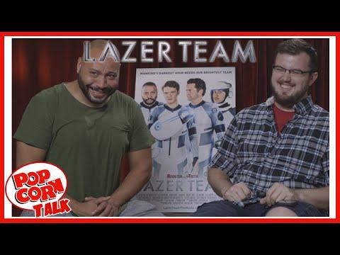 Lazer Team's Colton Dunn @ RTX 2015 | Popcorn Talk Interviews