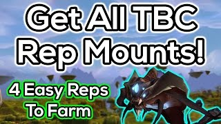 TBC Mount Rep Guide - Kurenai, Mag'har, Netherwing. Sha'tari Skyguard \u0026 Cenarion