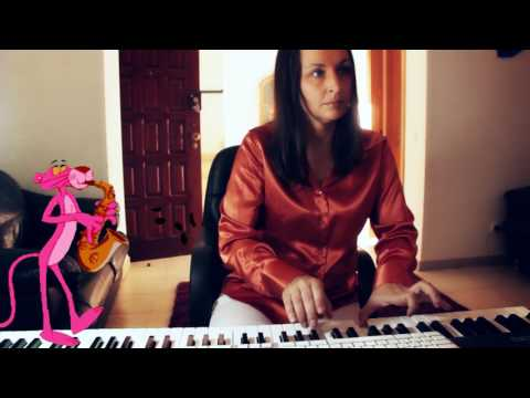 The Pink Panther Theme by Henry Mancini, piano version performed by Svetlana Bakushina