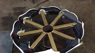 Разыгрываем колеса-кроссовки