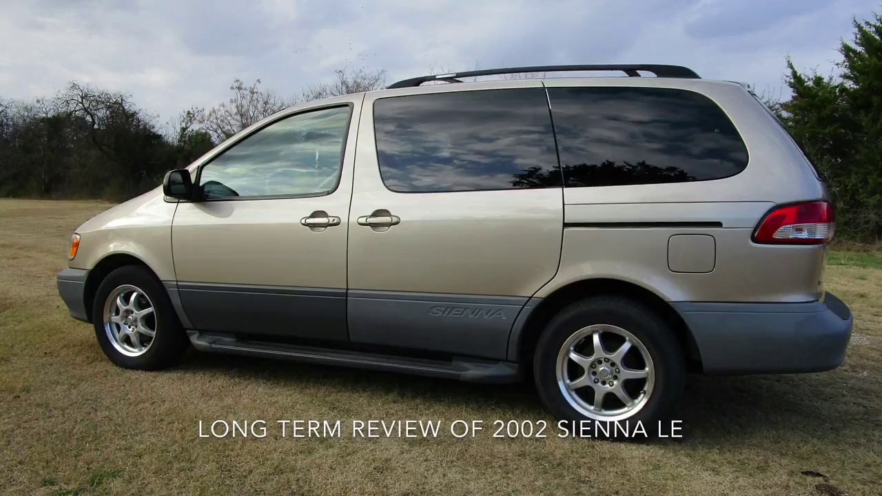 2002 sienna long term review youtube. Black Bedroom Furniture Sets. Home Design Ideas