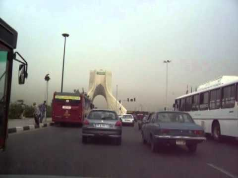 Road trip to Azadi monument,Tehran !