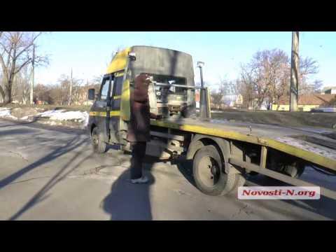 Видео 'Новости-N': В Николаеве  пьяный водитель бросается на патрульных