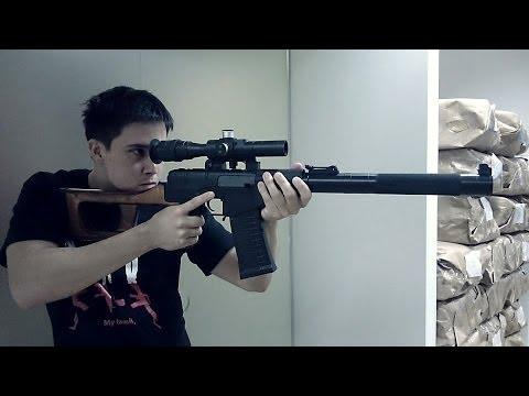 Sexy Sniper Rifle: King Arms VSS Vintorez AEG- RedWolf Airsoft RWTV