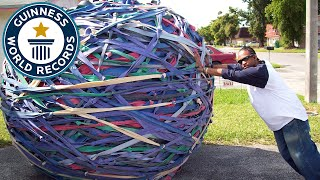 World's Largest Rubber Band Ball - Classics