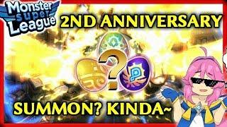 2nd Anniversary Eggs + Heroes Fest Summon? Kinda~︱Monster Super League EP125
