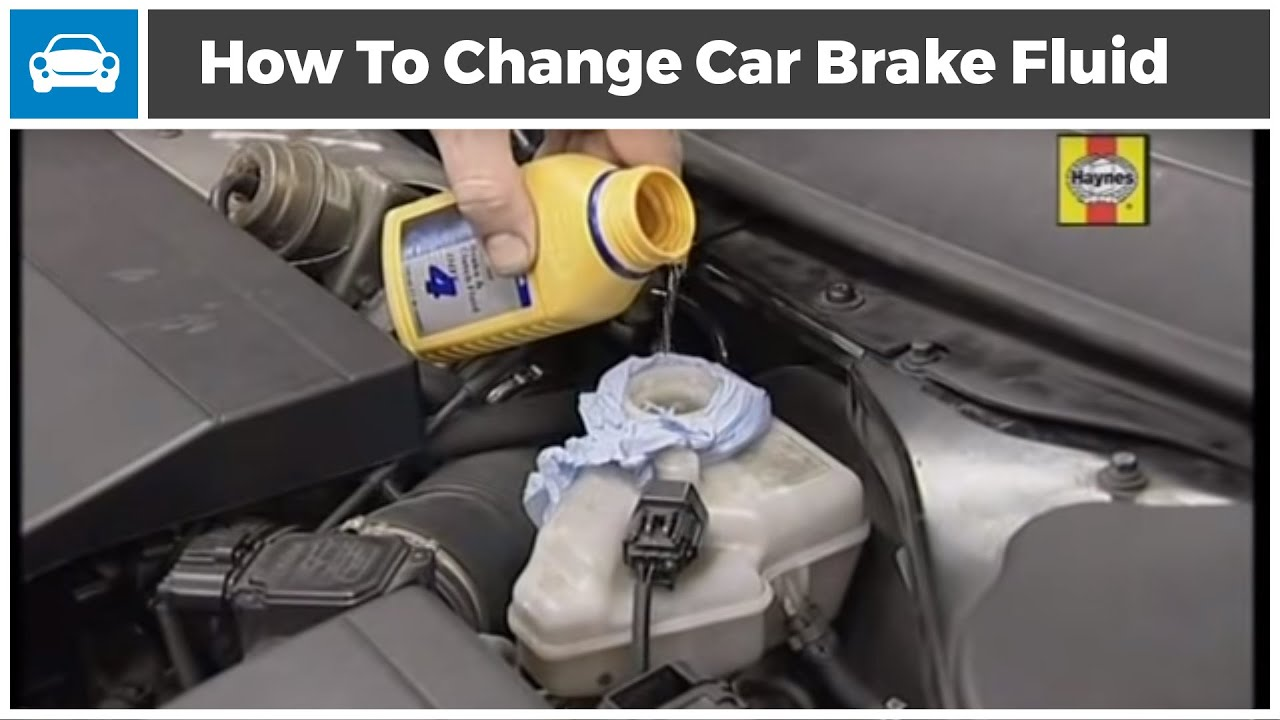 How To Change Brake Fluid >> How To Change Brake Fluid In A Car Youtube