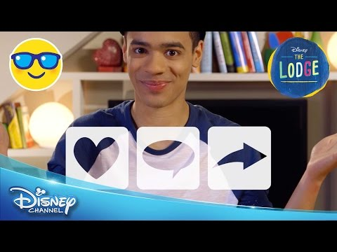The Lodge | Josh Goss 1: Welcome Viewers! | Official Disney Channel UK