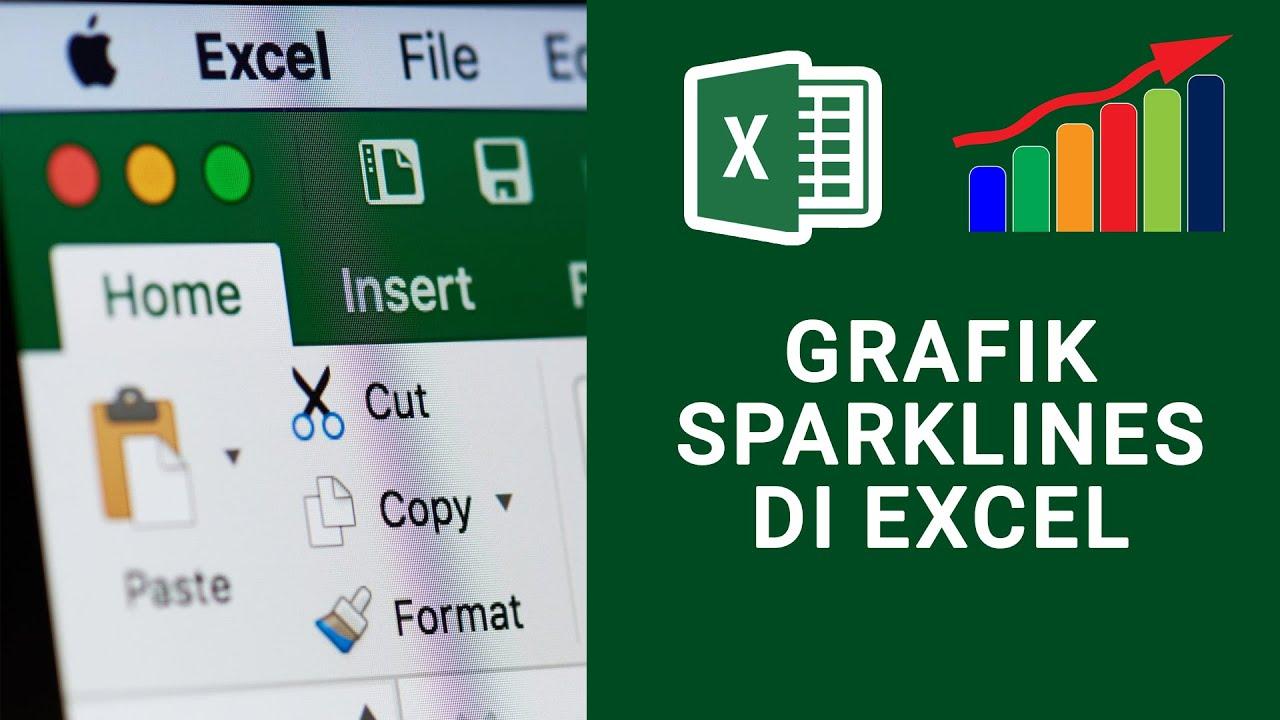 Membuat Grafik Tren Otomatis dengan Sparklines di Excel