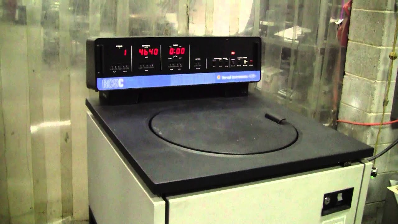 sorvall refrigerated superspeed centrifuge model rc 5c youtube rh youtube com Sorvall Rotor Manual User Manual