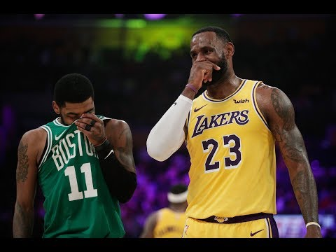 LeBron James and Kyrie Irving Use Their Old Cavs Handshake After Lakers-Celtics