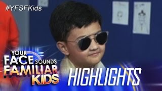 Your Face Sounds Familiar Kids Rehearsal: Alonzo Muhlach as Pitbull