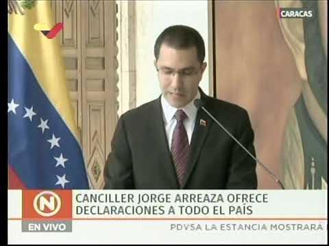 Comunicado de Venezuela ante decisión de una parte de la FARC de volver a las armas