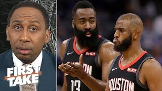 We should expect more from Chris Paul, not just James Harden – Stephen A. | First Take