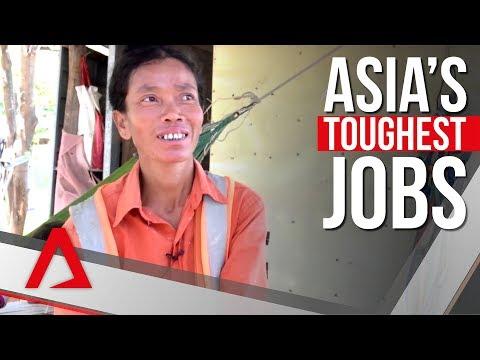 Asia's toughest jobs: The women helping build Cambodia