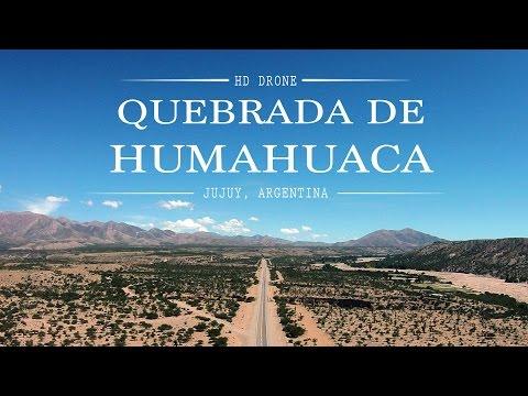 Quebrada de Humahuaca [HD Drone]