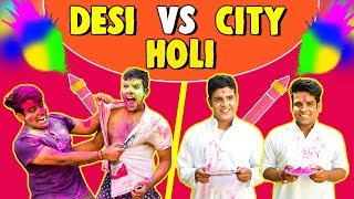 DESI VS CITY HOLI Celebrations | The Half-Ticket Shows thumbnail
