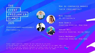 How do companies manage their freelancers    The Event Freeelancer Summit 2020