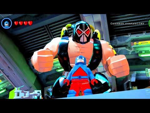 LEGO Batman 3 Beyond Gotham - All Signature Poses & 360 Spin of All Characters