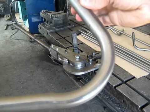 Трубогиб для тонкостенных труб D25мм.wmv