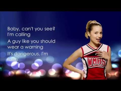 Glee - Toxic (Lyrics)