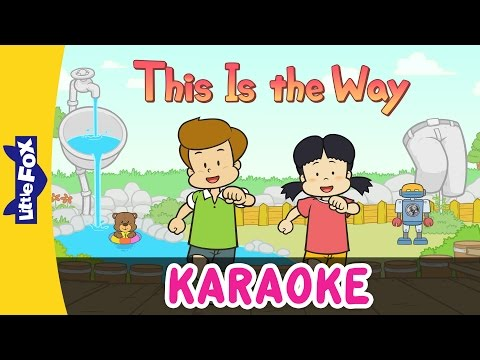 This Is the Way | Sing-Alongs | Karaoke Version | Full HD | By Little Fox