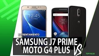samsung j7 prime vs moto g4 plus   enfrentamiento   review   unboxing