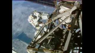 International Space Station Astronauts Conduct Third Spacewalk in Eight Days