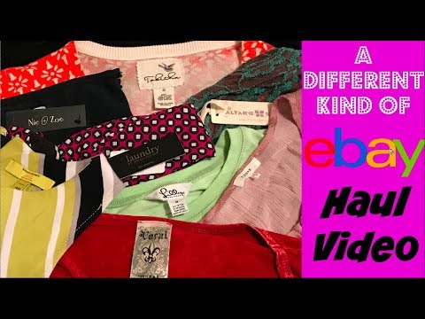 Goodwill Thrift Store Haul for eBay :How to Make $100 an Hour Selling on eBay