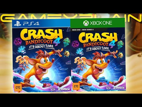 Crash Bandicoot 4: It's About Time Officially Rated in Taiwan! Full Reveal Incoming