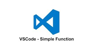 VSCode - Simple Function