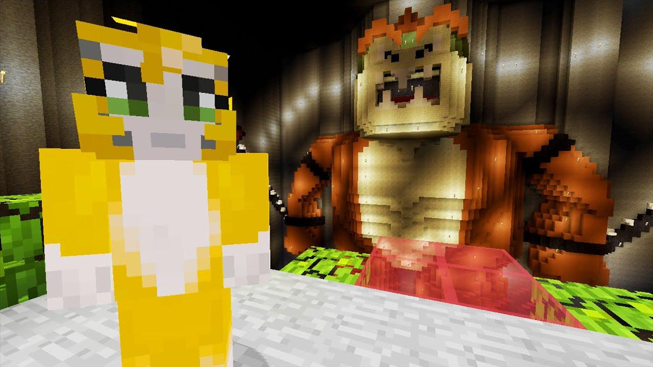 Minecraft Xbox - Mario 64 - Bowser {5}