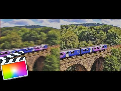 Final Cut Pro X STABILIZATION TUTORIAL! Get AWESOME Smooth Shots In FCPX Tutorial for Beginners