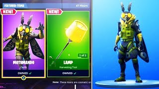New MOTHMANDO SKIN Gameplay in Fortnite..