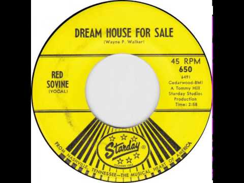 Red Sovine ~ Dream House For Sale