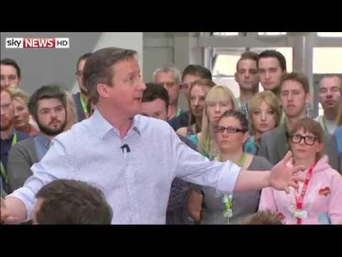 "David Cameron Makes ""Career-Defining"" Slip-Up During Asda Speech"