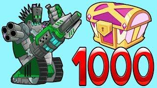 Tower Conquest взлом! Терминатор и сундуки - Игры только для детей #86