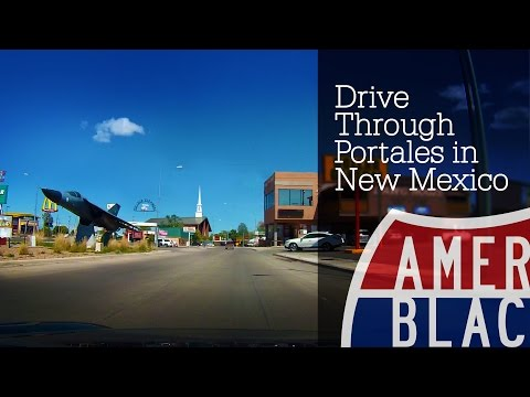 Drive Time - Ride Through Portales - New Mexico - US70