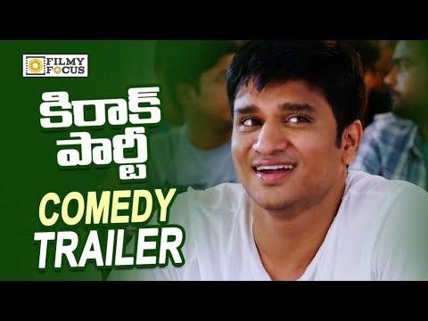 Kirrak Party Movie Comedy Trailers || Back to Back || Nithin, Samyuktha, Simran - Filmyfocus.com