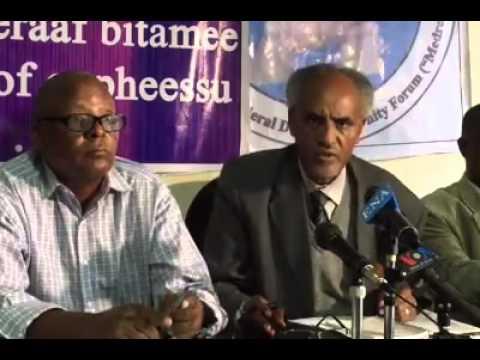 Medrek rejected election result   Ethiopia. Credit - VOA