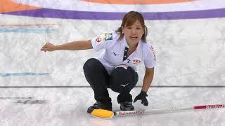 China v Japan Women Curling World Cup First Leg Suzhou