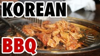 Amazing Korean Barbecue In Seoul (새마을식당)