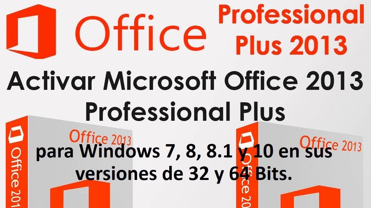 Como Descargar Office  2013  Instalar y Activ…