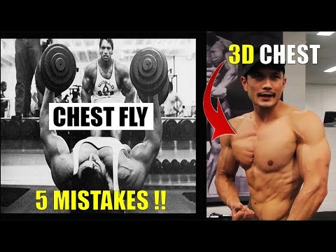GET BIG CHEST- 5 MISTAKES OF DUMBBELL FLYS STOP RIGHT NOW!!(महा पाप)